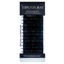 EMILYSTORES Eyelash Extensions 0.20mm Thickness C Curl
