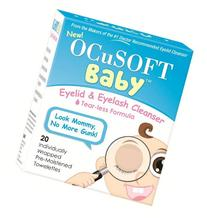 OCuSOFT Baby Eyelid and Eyelash Cleanser, Pre-Moistened