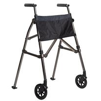 Stander EZ Fold N' Go Walker, Black Walnut, 1 ea