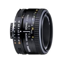 Nikon AF FX NIKKOR 50mm f/1.8D Lens with Auto Focus for