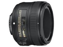 Nikon AF-S FX NIKKOR 50mm f/1.8G Lens with Auto Focus for