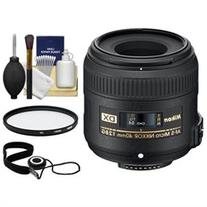 Nikon 40mm f/2.8 G DX AF-S Micro-Nikkor Lens + 3 UV Filter