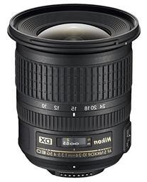Nikon AF-S DX NIKKOR 10-24mm f/3.5-4.5G ED Zoom Lens with