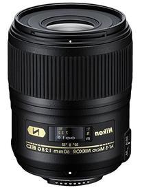 Nikon AF-S FX Micro-NIKKOR 60mm f/2.8G ED Fixed Zoom Lens
