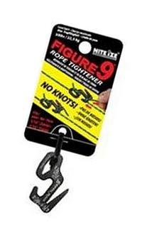 Nite Ize F9S-02-01 Figure-9 Rope Tightener, Black, Small