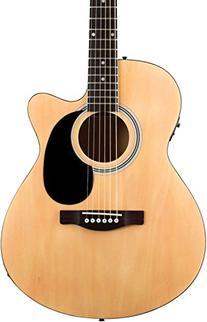 FA135CE Concert Acoustic-Electric Guitar Natural