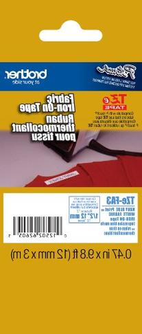 Brother Fabric 1/2 Inch Iron-On Tape - Retail Packaging,