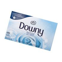 Downy Fabric Softener Sheets, Clean Breeze, 120 Count