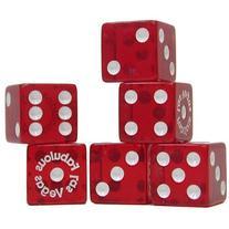 Trademark Poker Fabulous Las Vegas Dice, Pack of 25