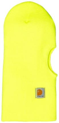 Carhartt Men's Face Mask,Brite Lime,One Size