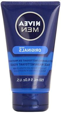 Nivea Men Face Wash Cleans n Moisturizes with Menthol and