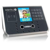 Attendance System, Facial ID, Touchless, Black/Silver