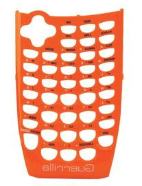 Guerrilla Orange Faceplate For Texas Instruments TI 84 Plus