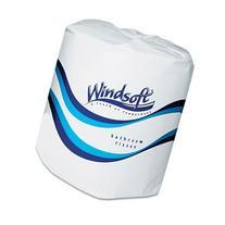 Windsoft 2400 Single Roll Two Ply Premium Bath Tissue
