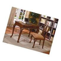Fairfax Home Office Desk & Chair Set By CrownMark Furniture