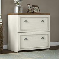 Fairview Lateral File Cabinet in Antique White
