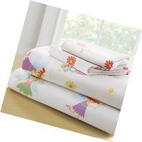 Wildkin Full Sheet Set, 100% Cotton Full Sheet Set with Top