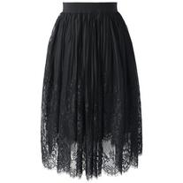 Chicwish Fairy Tulle Black Skirt