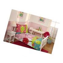 4pc Fairytale Toddler Bedding Set - Frog Prince Princess