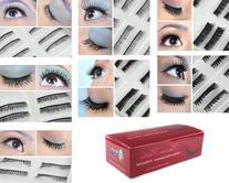 Bundle Monster 70 Pairs Fake/False Eyelashes - 7 Different