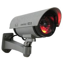 Outdoor Fake , Dummy Security Camera with Blinking Light