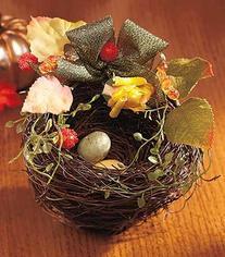 Fall Blessings Keepsake Birds Nest Sentiment Natural