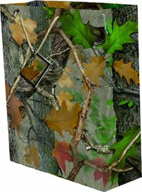 River's Edge Fall Transitions Camouflage Design Gift Bag,