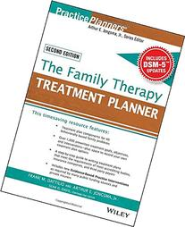 The Family Therapy Treatment Planner, with DSM-5 Updates,