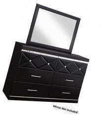 "Ashley Fancee B34831 58.19"" Dresser with 6 Drawers 3D"