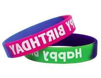 Teacher Created Resources Fancy Happy Birthday Wristbands