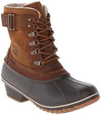 Sorel Women's Winter Fancy Lace II Boot,Elk/Grizzly Bear,8 M