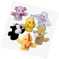 Farm Animal Finger Puppets - 12 pieces