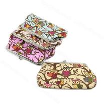 Fashion Women Owl Small Hasp Coin Purse Wallet Clutch Bag