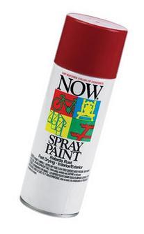 NOW 21-217 Fast Dry Lead-Free Spray Enamel, 9 oz. Can, Wagon