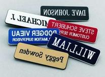 Name Badges | Name Tags | Engraved Identification - Up to 3