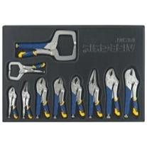 Vise Grip 10 Piece Fast Release Locking Pliers Set in Pouch