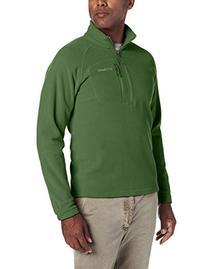 Columbia Men's Fast Trek II Half Zip Fleece Jacket, Black, X