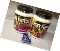 CytoSport Fast Twitch Pre-Workout Supplement Powder, Fruit