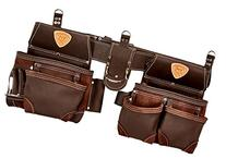 Brown McGuire-Nicholas 803-E Oil Tanned Leather Tool Rig