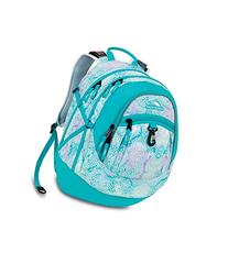 High Sierra Fat Boy Backpack, Snake Dye Tropic Teal/Pattern