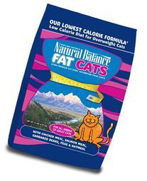 Natural Balance Fat Cats Chicken & Salmon Formula Low