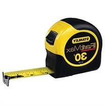 Stanley Tools Fat Max Tape Rule, 1 1/4 x 35ft, Plastic Case