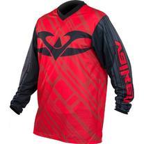 Valken Fate II Jersey, Black/Red, Medium