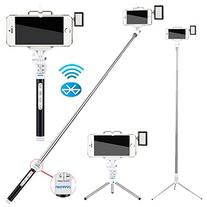 Zonman Bluetooth Extendable Selfie Stick with Tripod Stand