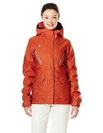 Volcom Junior's Fauna Insulated Snow Jacket, Burnt Sienna, X