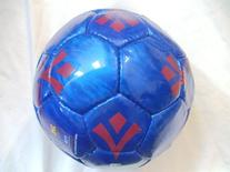 FC BARCELONA OFFICIAL SOCCER BALL SHINY BLUE