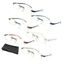 Fiore® Feather Flex New & Improved 6 Pack Clear Rimless