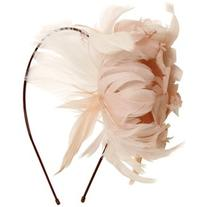 Nanà Firenze Women Feather Flowers Headband