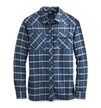 Outdoor Research Men's Feedback Flannel Shirt, Dusk, Small