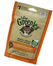 FELINE GREENIES 6-Pack Felines FELINE GREENIES, Chicken, 15-